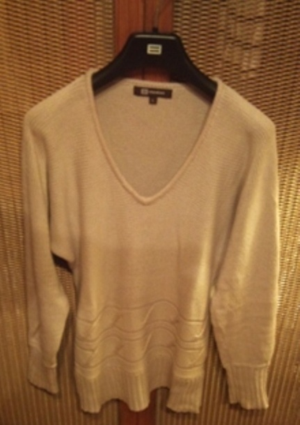 Fajny bawełniany sweterek Monton...