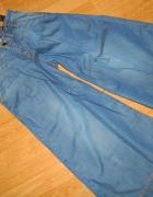 BERSHKA jeansowe szwedy szelki roz 32...