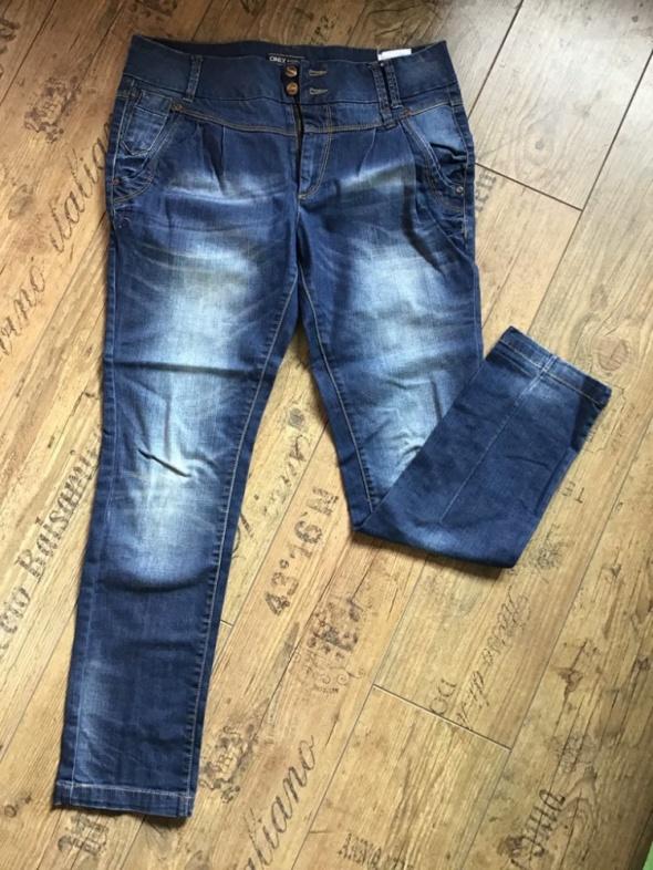 jeansy dżinsy ONLY jak Nowe jeansowe 38 40 M L