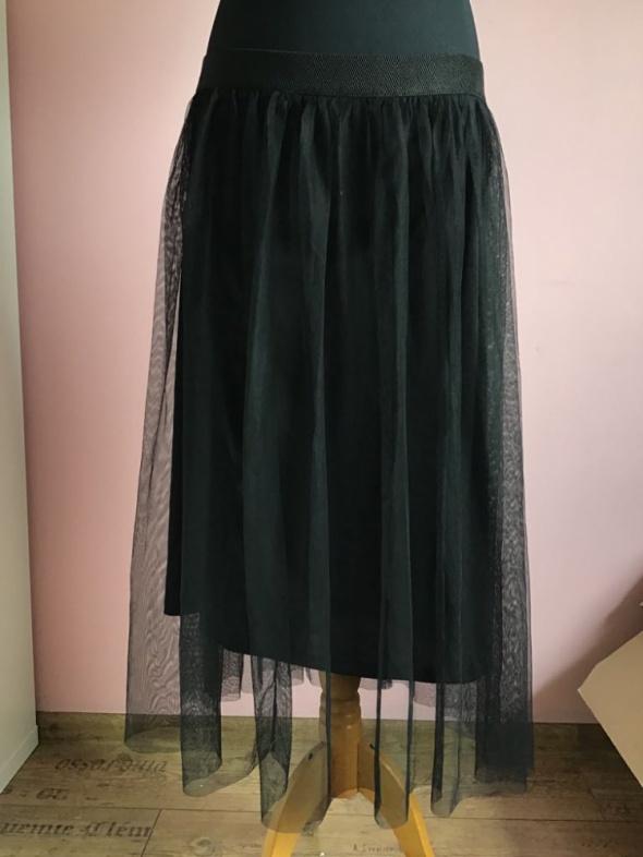 Maxi długa spódnica tiulowa Terranova 40 L spódniczka...