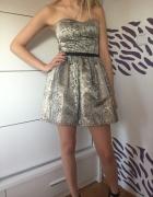 Sukienka wężowa Bershka...