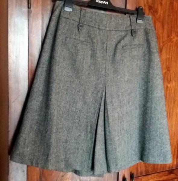 Trzyczęściowa garsonka kostium żakiet kamizelka spódnica...