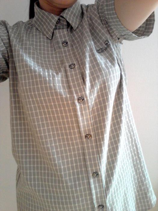 Koszula w kratę WolfSkin turystyczna wygodna przew...
