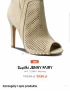Kupię beżowe botki r 36 Jenny Fairy...