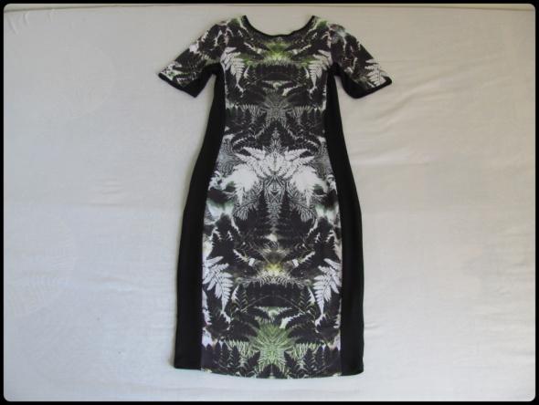 River Island sukienka elastyczna Dżungla 38 40...