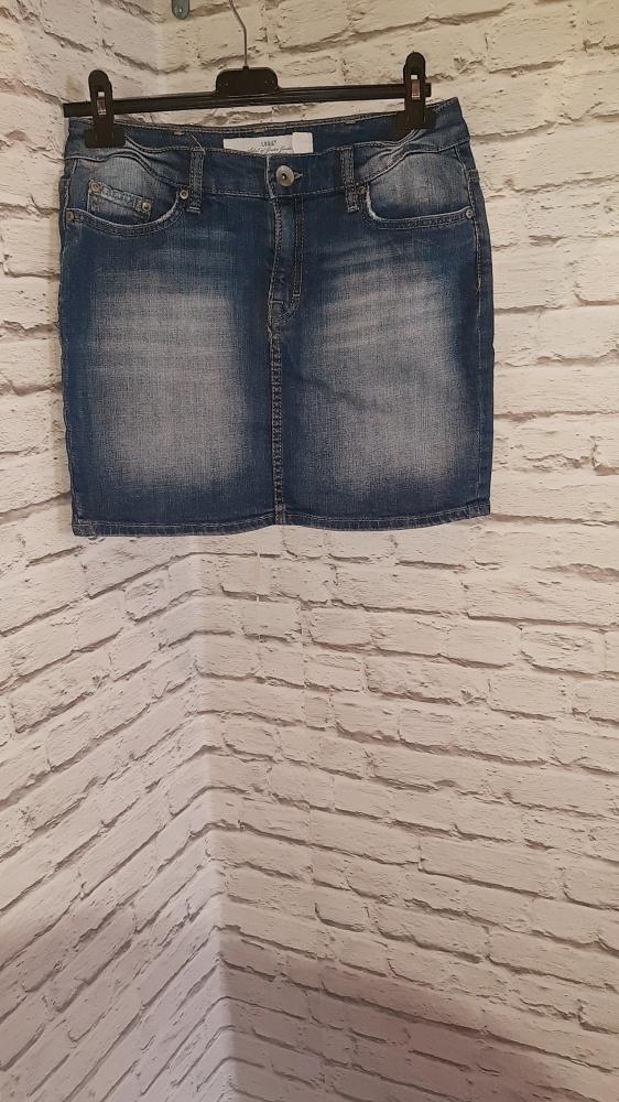 Krótka spódniczka z jeansu