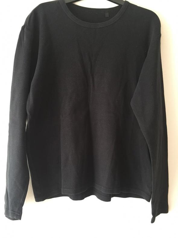 czarna bluza bluzka oversize