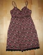 YESSICA sukienka w kwiatki 42 XL