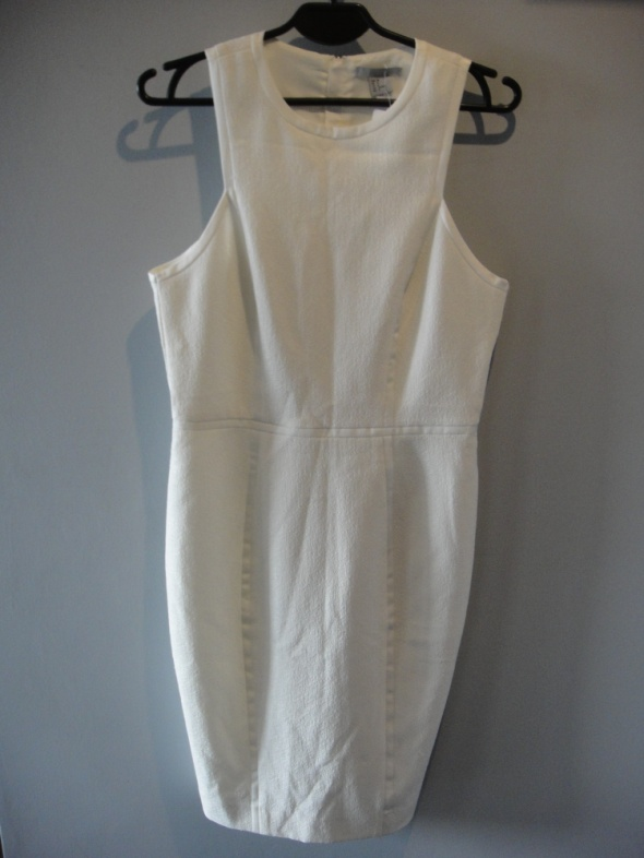kobieca sukienka biała hit