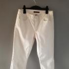 Białe spodnie Tommy Hilfiger