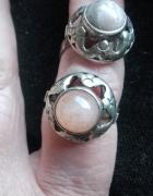 Warmet Srebrny pierścionek kopułka...