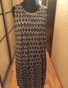 Letnia sukienka w aztecki wzór H&M 40...