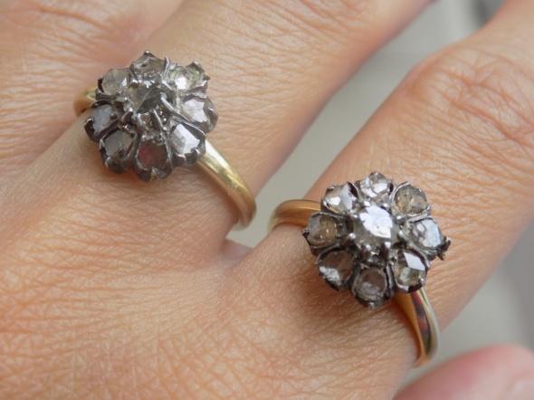Pierścionki zabytkowe pierścionki nr 2