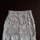 Koronkowa spódnica mini boohoo M