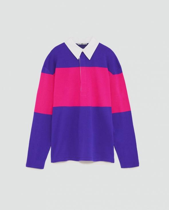 Zara kolorowa bluza