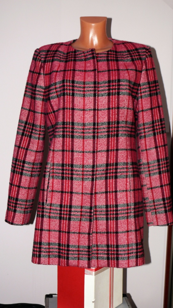 Odzież wierzchnia wełniany płaszczyk next 40