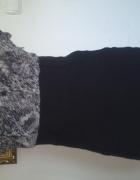 sukienka ołówkowa M L czarna mgiełka...