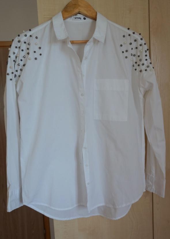 Koszule biała koszula