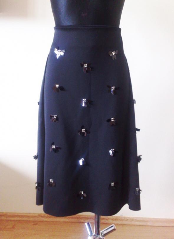 Nowa spódnica z cekinami H&M