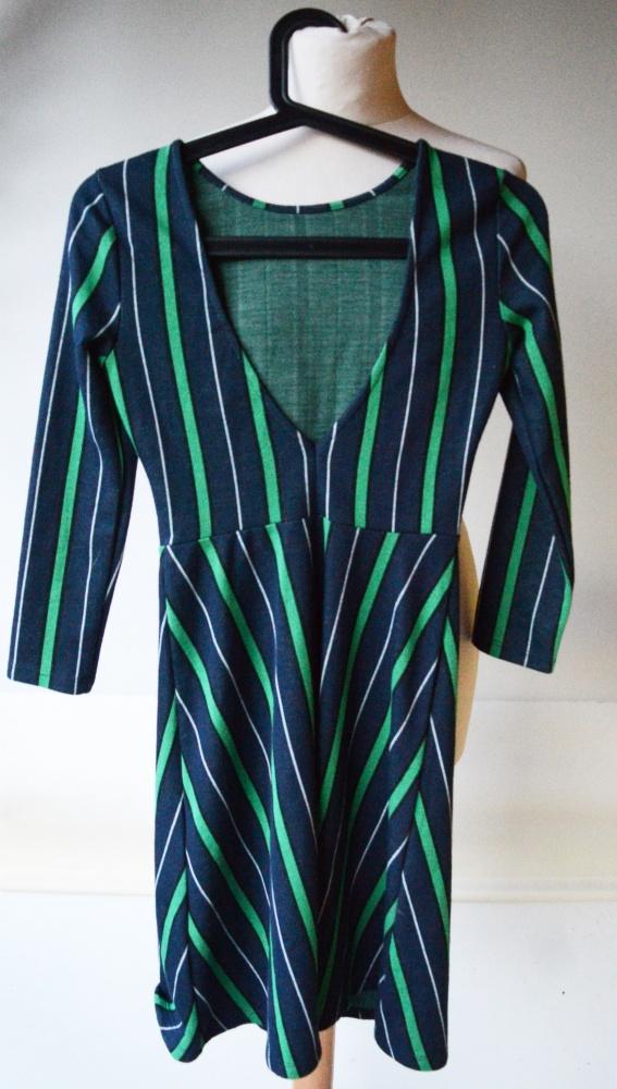 Sukienka Paski Odkryte Plecy Gina Tricot XS 34 Modna...