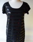 Sukienka KappAhl 40 42 M Czarna Cekiny Modna...