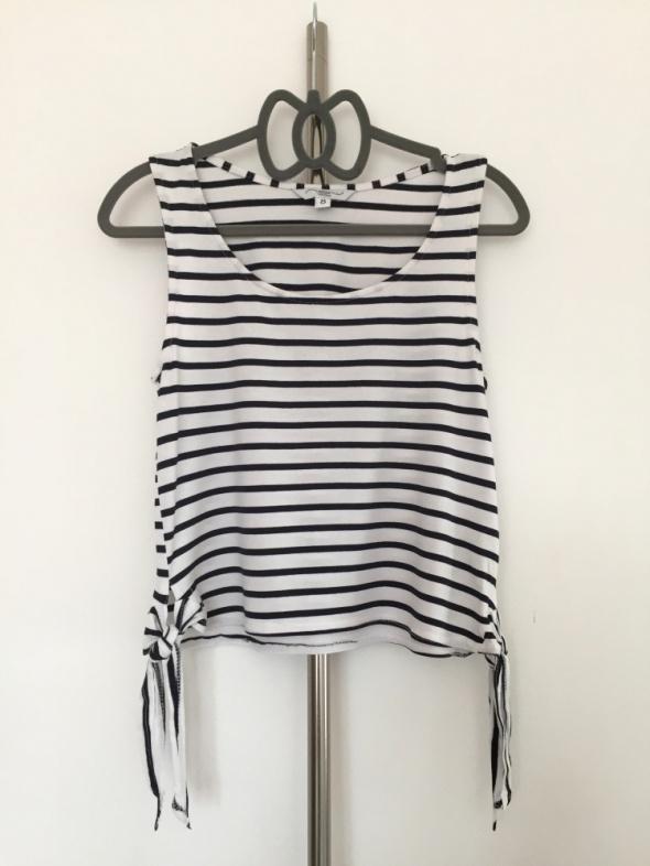 Koszulka New Look paski czarne białe S must have insta tumblr
