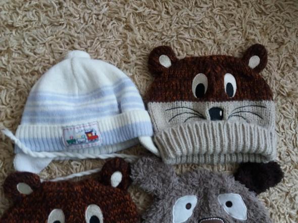 Ciepłe czapki dziecko