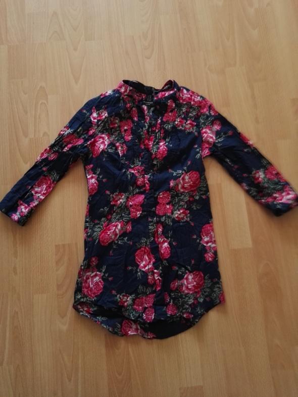 Tuniki Kwiecista tunika koszula