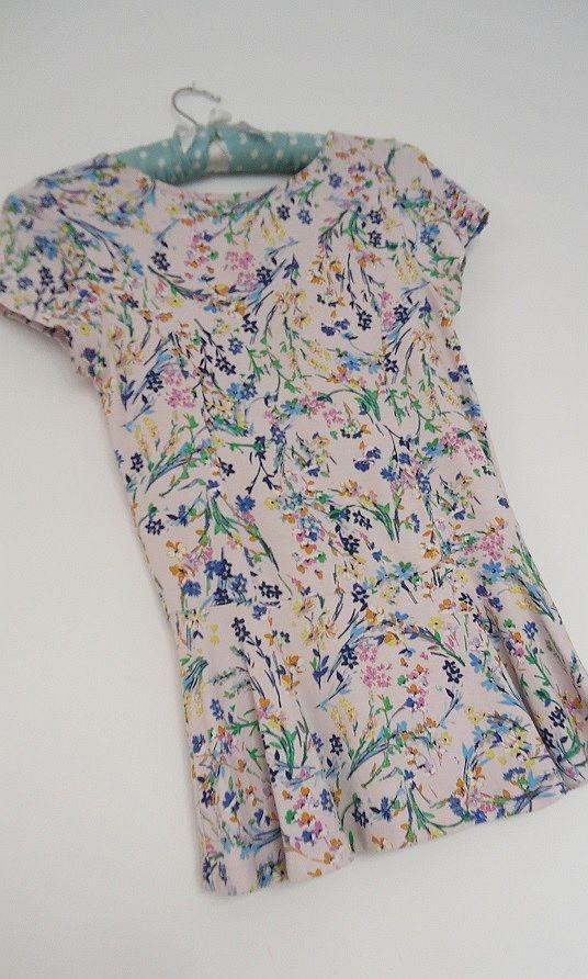 Bluzki baskinka kwiaty