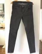 Nowe szare jeansy w groszki RESERVED rozm 40...