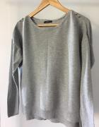 Cienki szary sweterek PROMOD rozmiar M...