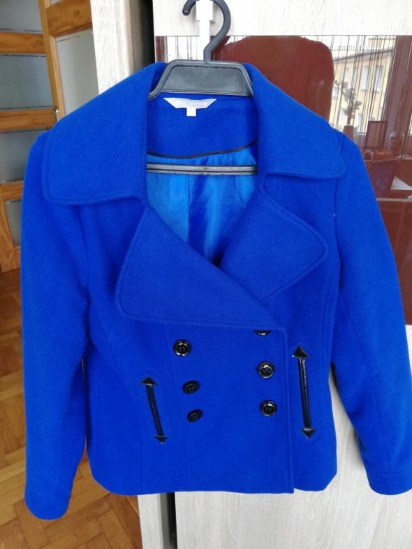 Niebieska kurtka TANIO