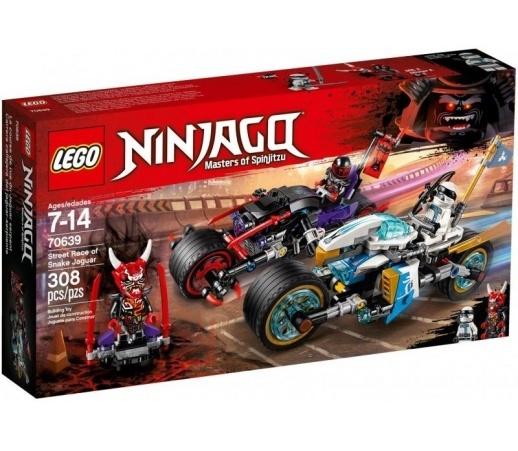 LEGO NINJAGO Wyścig uliczny Wężowego Jaguara 70639