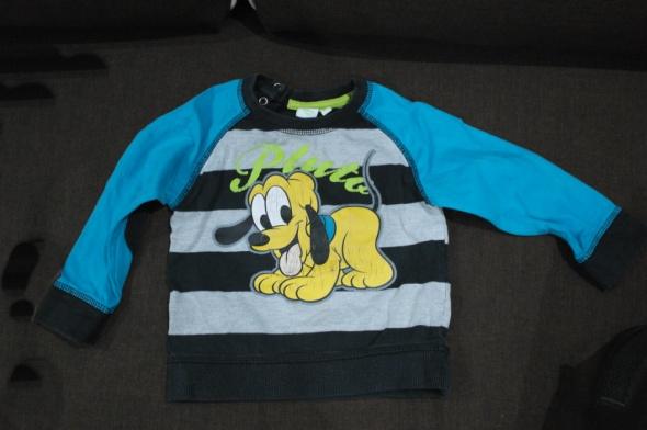 Disney bluzki sweterek 74 86
