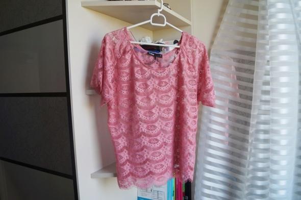 Bluzki Koronkowa różowa bluzka Cubus S