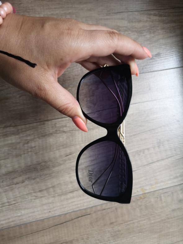 Okulary przeciwsłoneczne pilotki Dior glmaour