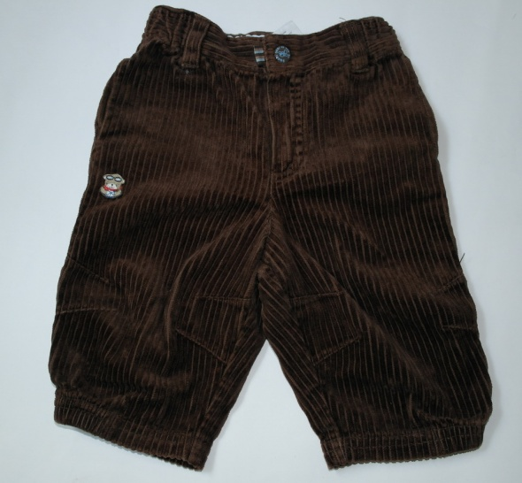 Spodnie i spodenki H&M spodenki sztruksowe 62