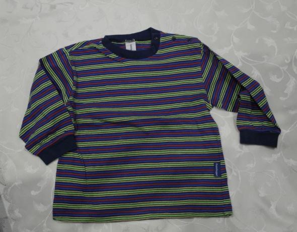 Bluzki Wielokolorowa bluzeczka w paseczki 86