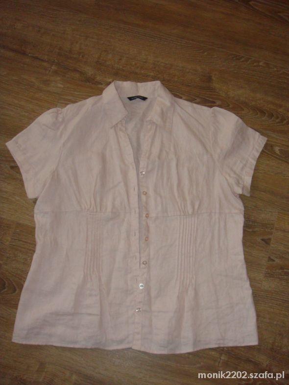 Lniana koszula w rozmiarze XL...