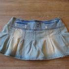 Spódniczka jeansowa rozkloszowana rozmiar M