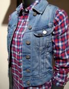 Piękna Jeansowe Kamizelka Lee XS...