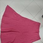 Czerwona spódnica maxi Per Una len lniana 42