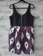 Śliczna sukienka H&M rozmiar 14 XL42 o kroju bombki Darmowa wysyłka