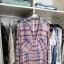 ZARA cienka koszula w kratę oversize