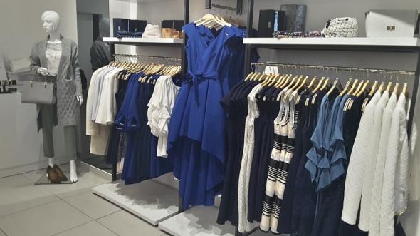 Suknie i sukienki piękna nowa kobaltowa asymetryczna