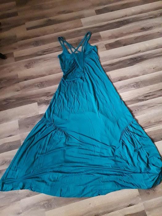 Sukienka maxi na ramiączkach 8 XS
