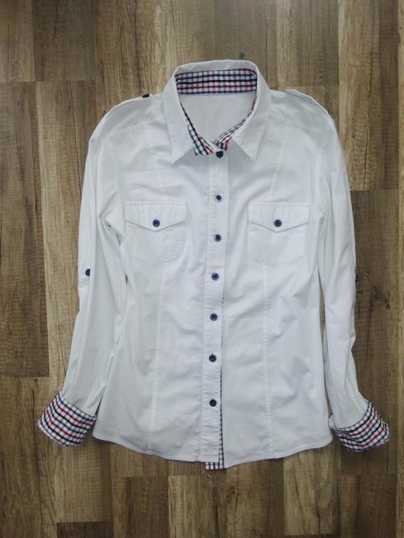 koszula biała elegancka wizytowa długi rękaw 34 XS