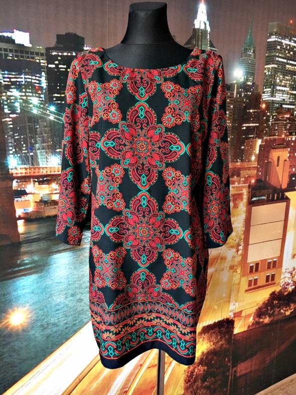 wallis sukienka modny wzór boho ornament hit blog 44
