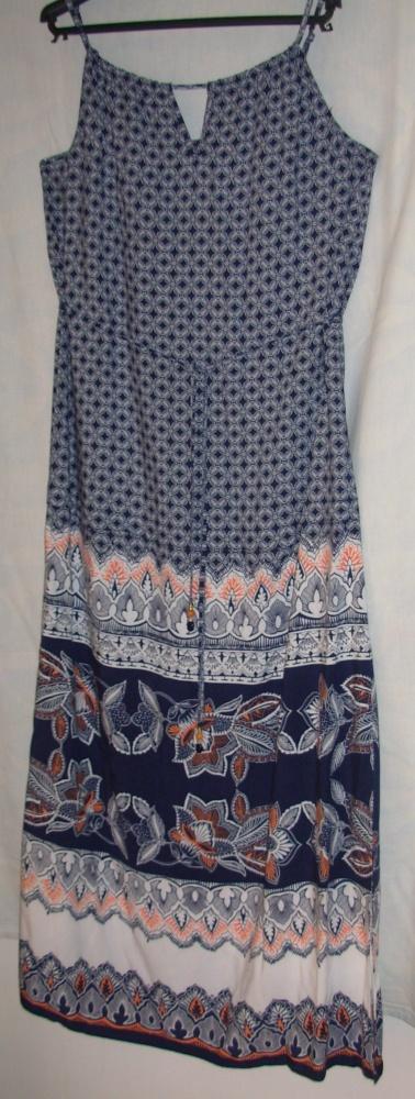 Długa sukienka z wiskozy MiS 40