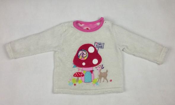 Bluzeczka na zimę od 6 do 12 miesięcy 80 cm